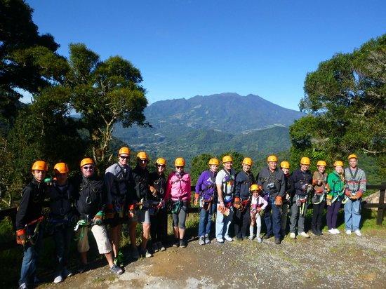 Boquete Tree Trek : Grupo
