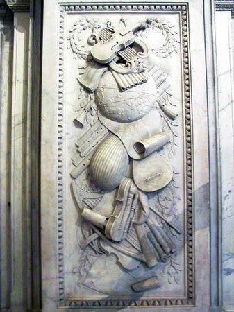 Paleis op de Dam (Königlicher Palast): relief on the wall
