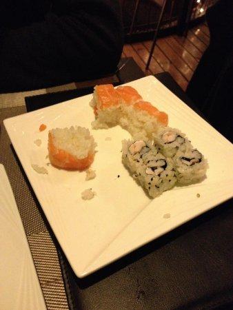 Arigato Sushi Restaurant : Ultimi piatti della serata...si nota la fretta del cuoco!