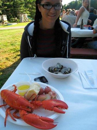 Alden Camps: Lobster bake