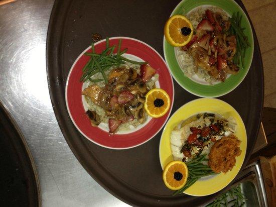 Alden Camps: dinner