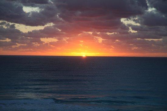 The Royal Caribbean: Sunrise @ 6:24am