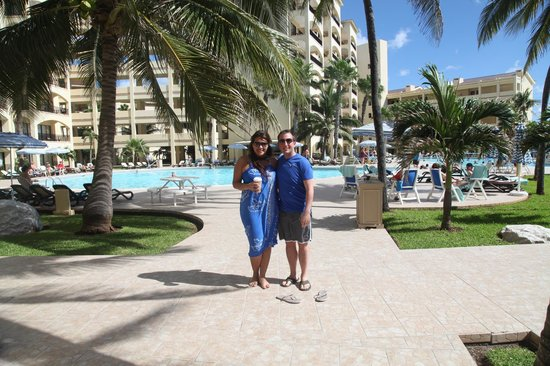 The Royal Caribbean: The staff took our photo