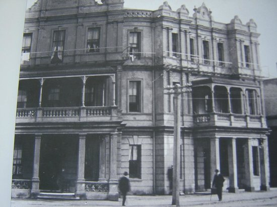 The Esplanade Hotel: The hotel as it was years ago, it is now 115 years old.