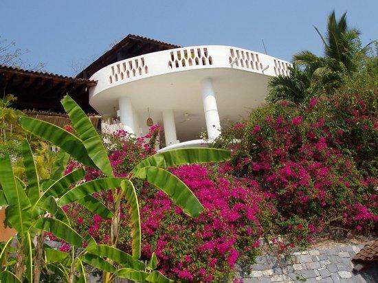 Zihuatanejo Bay : Upper suite and Patio [3 floors]