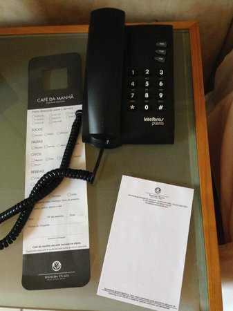 Golden Tulip Ipanema Plaza: No Hotel Phone Directory - Unable to get anyone