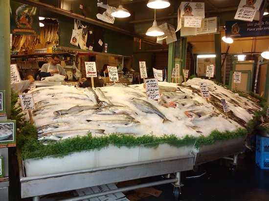 Pike Place Market: Pike Place Fish Co. 1