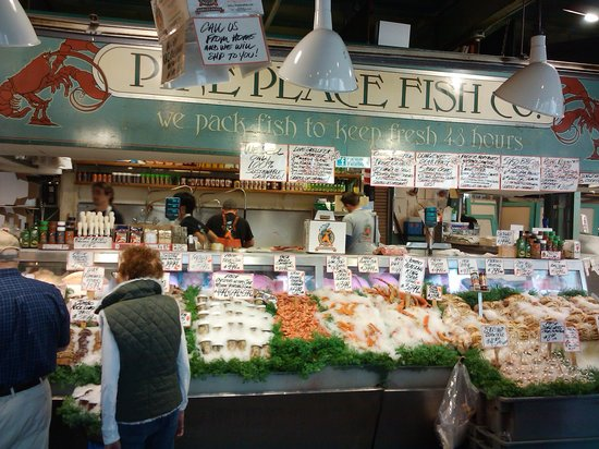 Pike Place Market: Pike Place Fish Co. 2