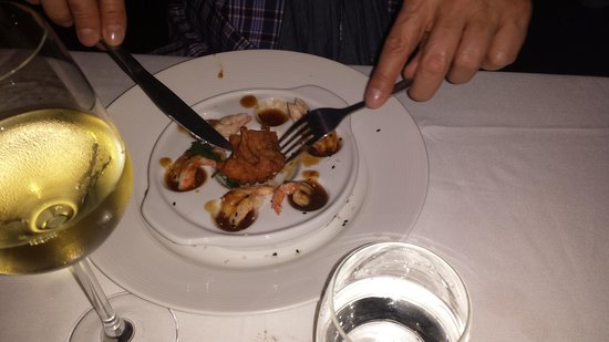 Beluga: Starter: Shrimps