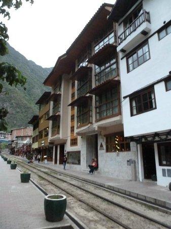 Casa del Sol Machupicchu: View from main street