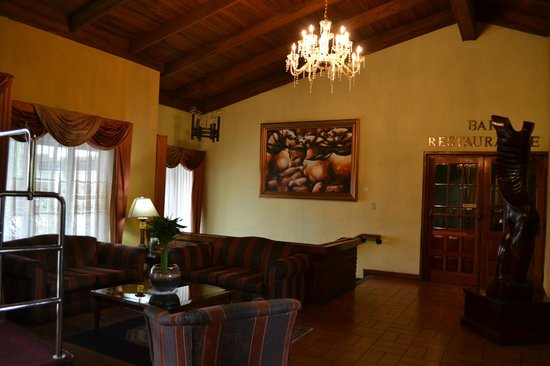 Hotel Villa Tournon: Recepcion