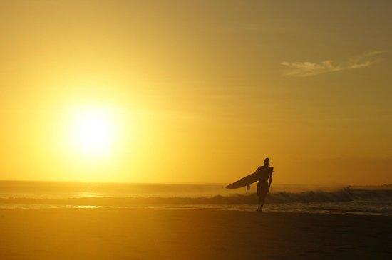 Linhares, ES: Pôr do Sol na Boca do Rio