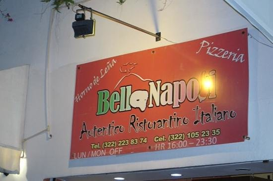 Bella Napoli: sign