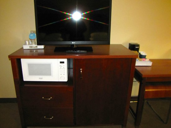 Four Points by Sheraton Boston Logan Airport : TV and microwave