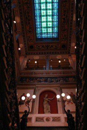 Museu da República: Escadaria do Palácio