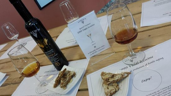 Strewn Winery: Great Pairing