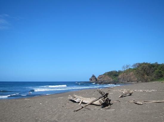 Brovilla Resort Hotel: beautiful beach down the hill