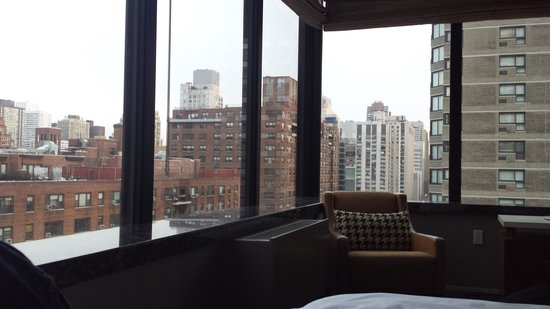 The Bentley Hotel: View from the bed