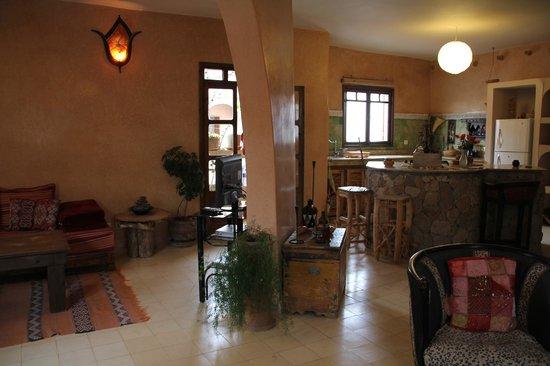 Casa Guapa de Tamuziga: Living Room Apartment II