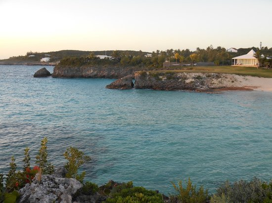 The Cove Eleuthera: View to the right from the point