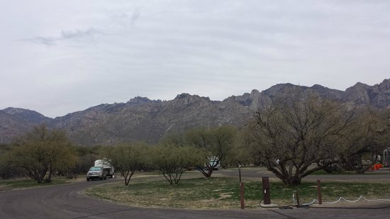 View from Catalina State Park Campground B