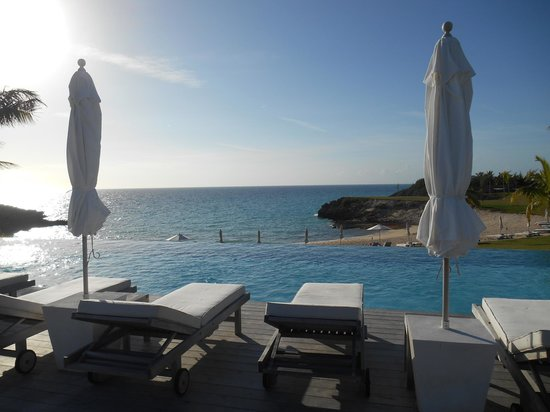The Cove Eleuthera: View by infinity pool