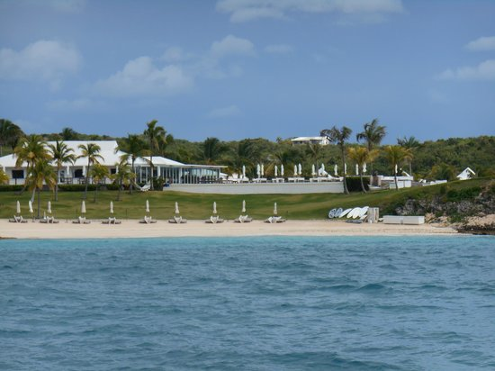 The Cove Eleuthera: View of the resort from the sea