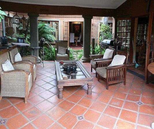 Terra Casa: Main House Sitting Room