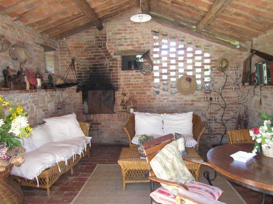 Villa Cicolina: Área social do hotel