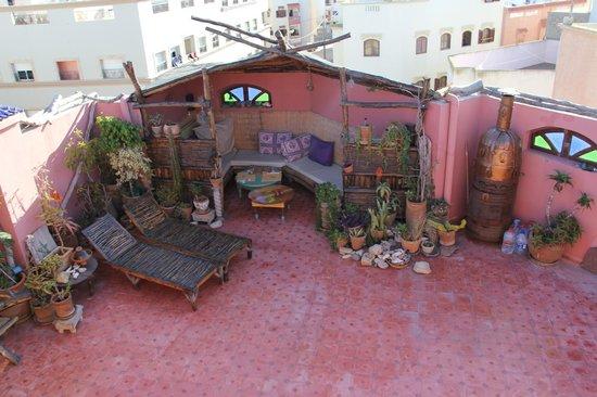 Casa Guapa de Tamuziga : Terrace