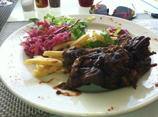 Dennis Cocktail Bar & Restaurant : bbq ribs.  Awesome flavor and orginal taste!!