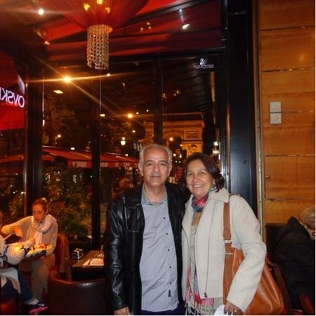 Pizza Vesuvio: Manoel Paiva & Ana Maria