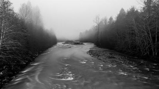 Sunwolf: The river in the morning