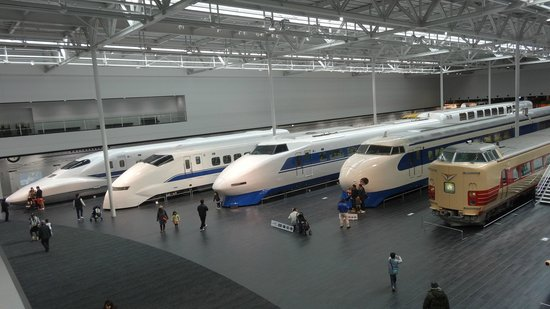 SCMAGLEV and Railway Park : 新幹線
