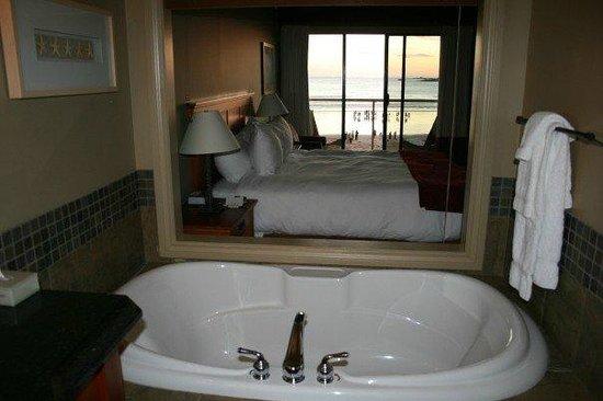 Long Beach Lodge Resort : ocean view room
