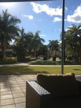 Miami Airport Marriott: Pool area