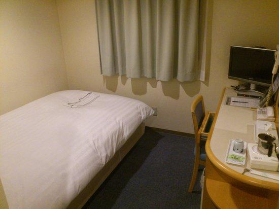 Hotel Green Mark : ベットは満足