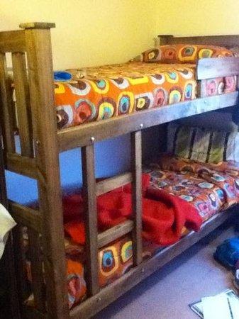 Casa Azul - Familia Patagonica : bunk beds