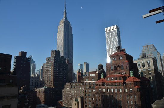 IBEROSTAR 70 Park Avenue Hotel: View from the terrace of Room 1701