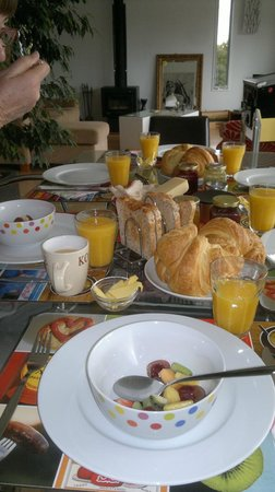 Baystay B&B: Breakfast was good!