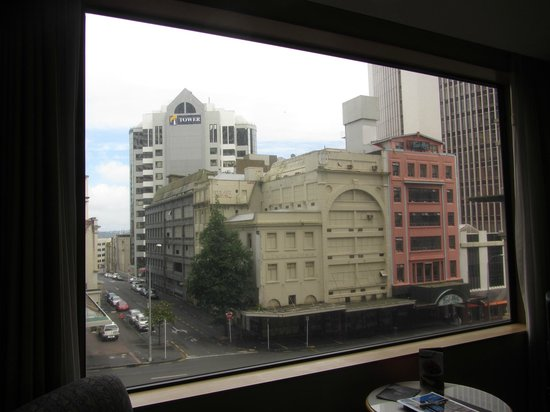 Stamford Plaza Auckland: View from third floor room