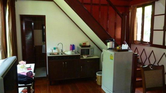 Ruenkanok Thai House: Kitchen area