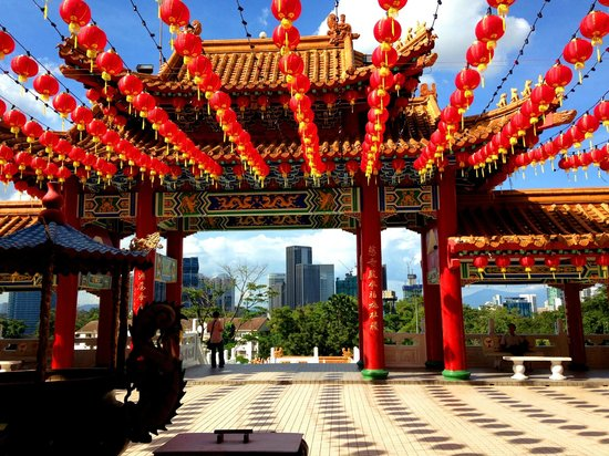 Thean Hou Temple : Temple Gate