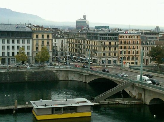 Mandarin Oriental, Geneva: View from the balcony