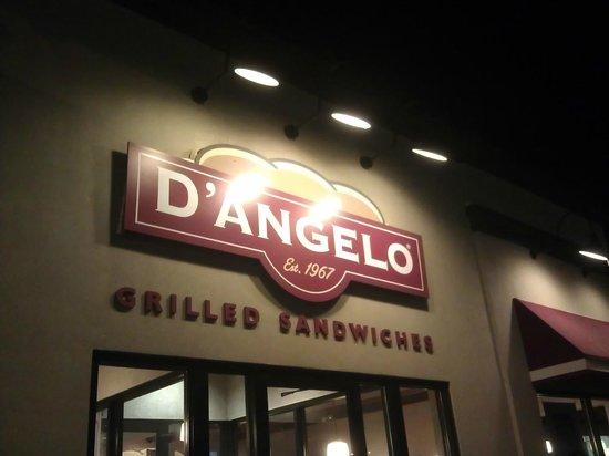D'Angelo Grilled Sandwich Restaurant in Vernon Connecticut