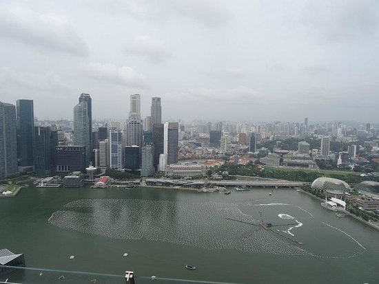 Marina Bay: Overlooking Singapore