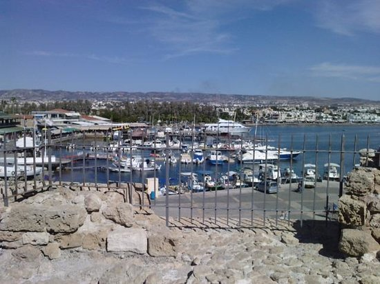 Paphos Harbour Castle: view from top