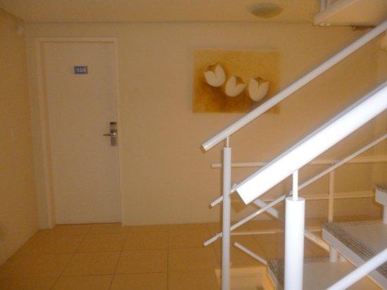 Hotel Pousada Silene: Pasillo hacia la habitacion