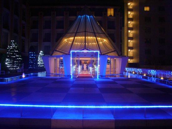 New Miyako Hotel: 中庭