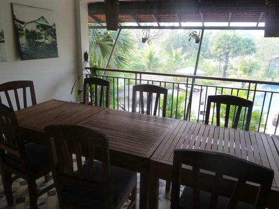 Battambang Resort: Restaurant